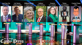 Candy Press - Leaders Debate
